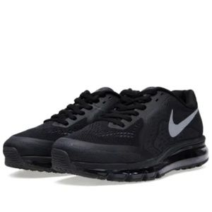 Nike air max women black 7.5m worn